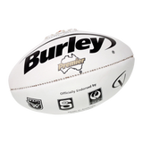 Burley White Poly Football