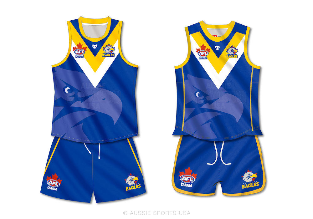 Burnaby Eagles Mens and Womens Uniforms
