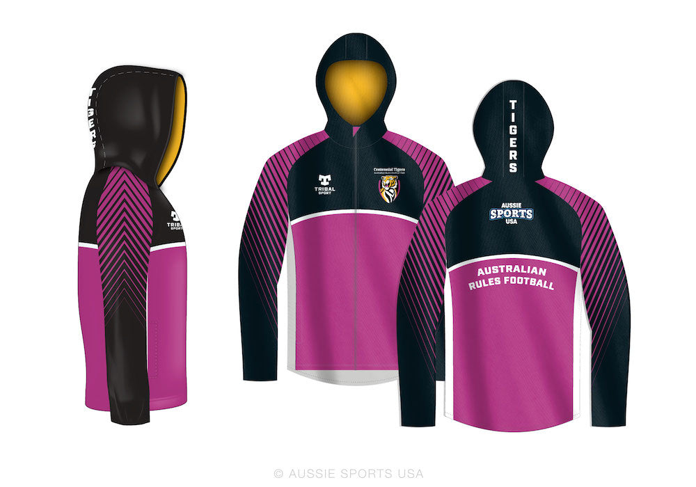 Centennial Tigers Full Sublimation Hoodie