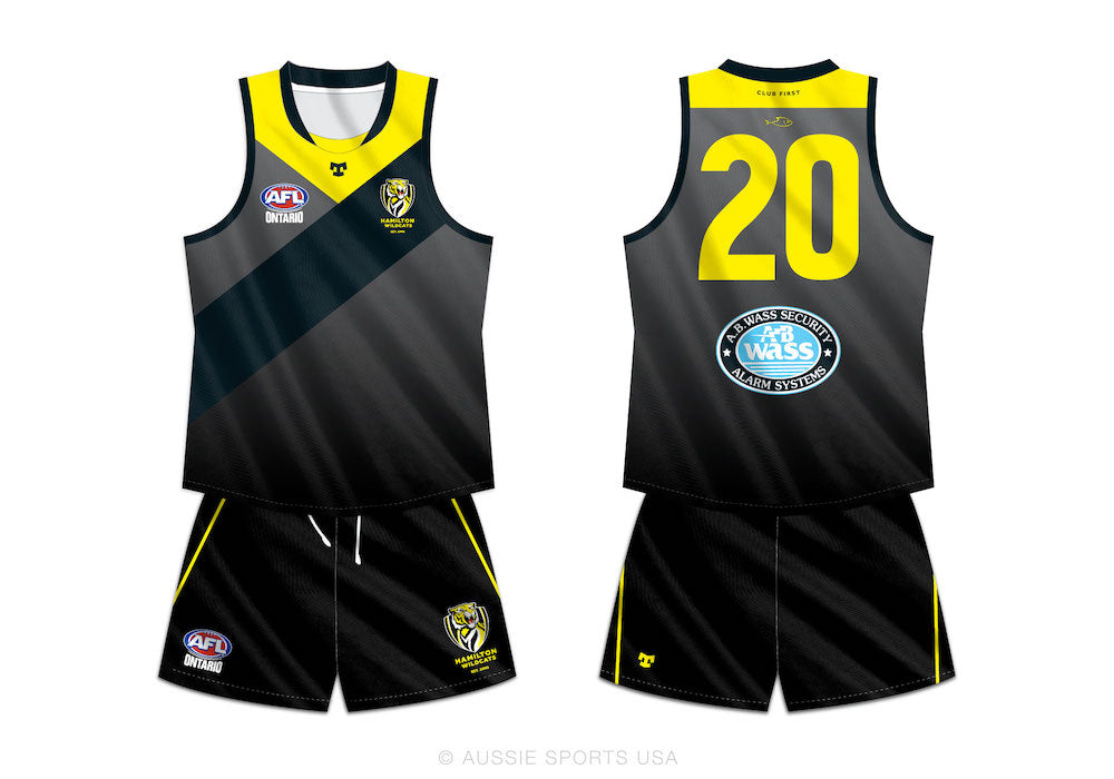 Hamilton Wildcats Mens and Womens Club Jersey and Shorts