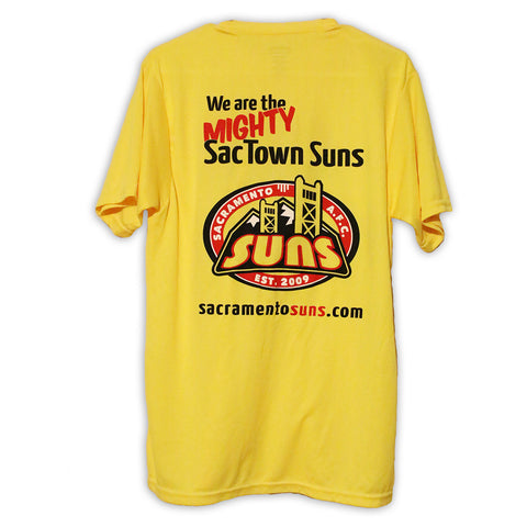 Sacramento Suns Training Shirt - Back