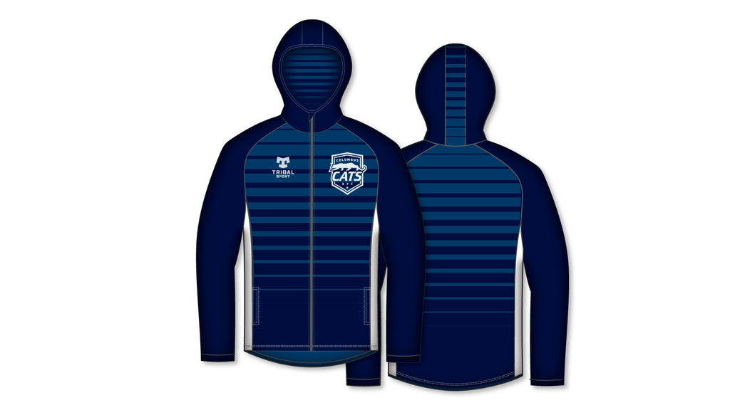 Columbus Cats Fully Sublimated Hoodie