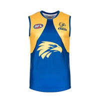 West Coast Eagles AFL Jersey Burley Sekem