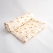 Ivory Chai Leaves 100% Bamboo Swaddle