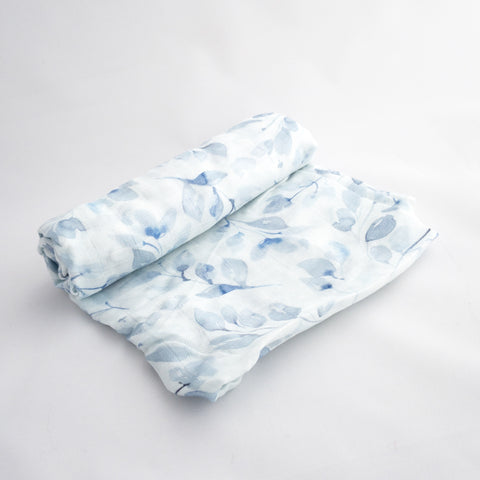 Soft Foliage 100% Bamboo Swaddle