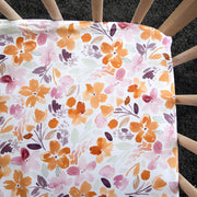 Autumn Bunch Waterproof Cot Sheet