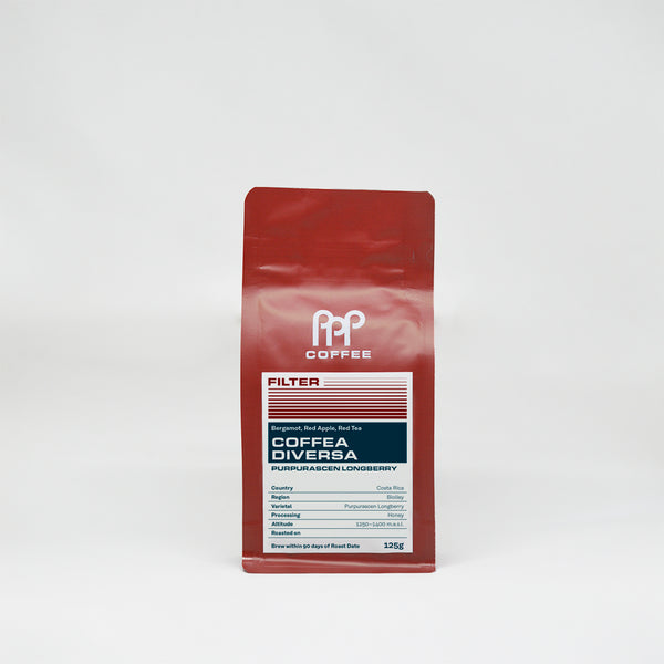 Costa Rica Coffea Diversa (Purpurascen Longberry)