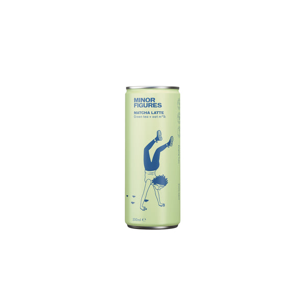 Minor Figures Nitro Cold Brew Cans Matcha
