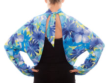 5 in 1 Sun Wrap - Blue Floral