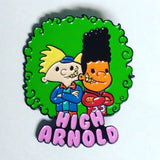 High Arnold Besties Pin