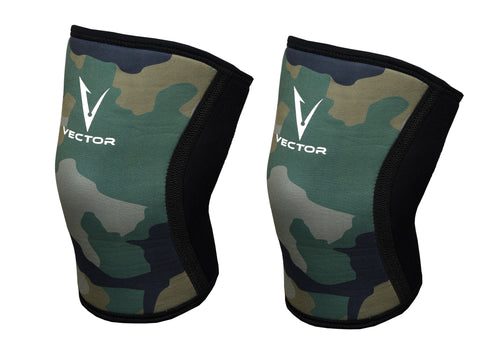 Compression knee sleeve 5mm Neoprene heavy duty for Weightlifting, Crossfit or any fitness workout.