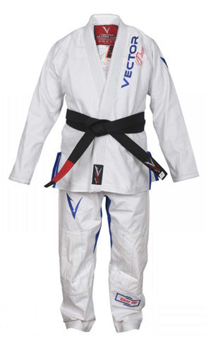 Flamma series BJJ gi with pre-shrunk fabric and embroidered design