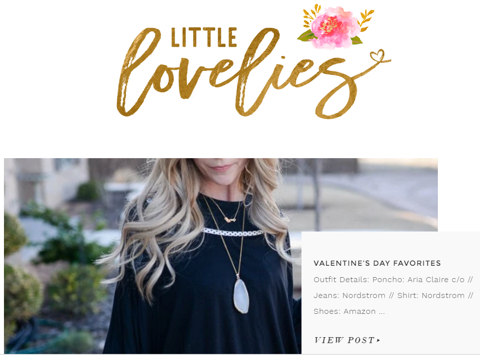 Little Lovelies - Selected as Valentine's Day Favorite gift