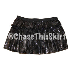 Black Sparkle Running Skirt | Chase This Skirt