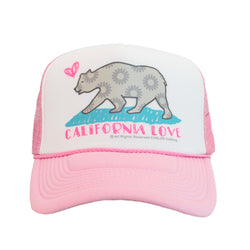 California Love Trucker Hat in Pink-Chase This Skirt