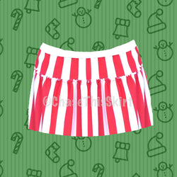 Candy Cane Running Skirt-Chase This Skirt