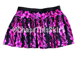 Pink Hibiscus Running Skirt - Chase This Skirt