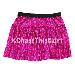 Magenta Sparkle Running Skirt | Chase This Skirt