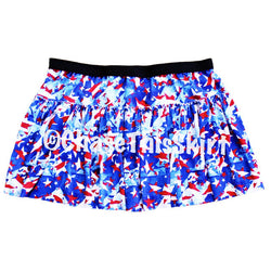 skirt - Red, White and Blue Running Skirt - Chase This Skirt