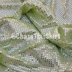 Mint Green Sparkle Running Skirt