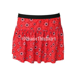 Red Bandana Running Skirt-Chase This Skirt