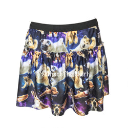 Outer Space Dogs Running Skirt | Chase This Skirt