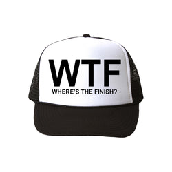 WTF Trucker Hat | Chase This Skirt