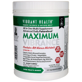 Vibrant Health Maximum Vibrance. A complete health supplement.