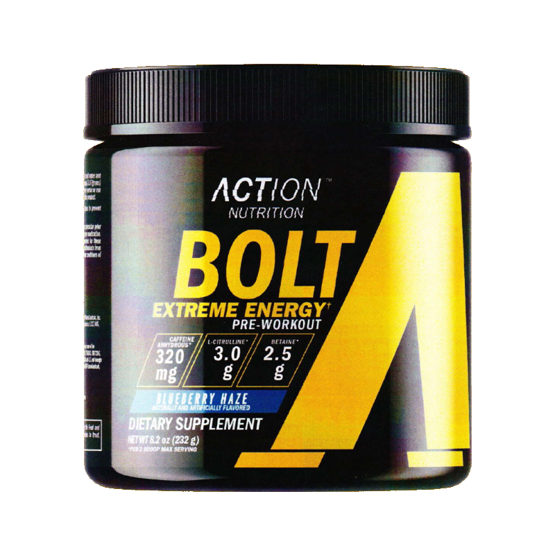 Action Nutrition Bolt Extreme Energy Pre Workout Blog