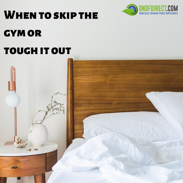 When to Skip the Gym Blog