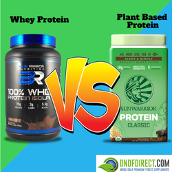 Whey Protein vs. Plant Based Protein