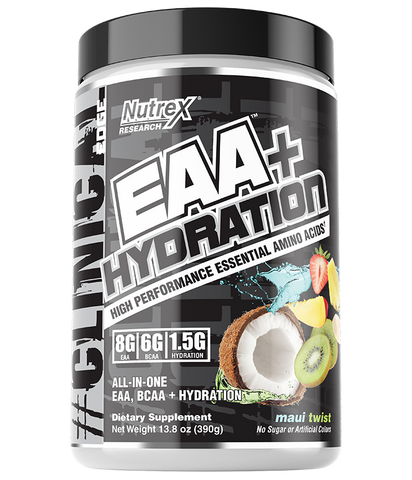 EAA Hydration. Post Workout Recovery