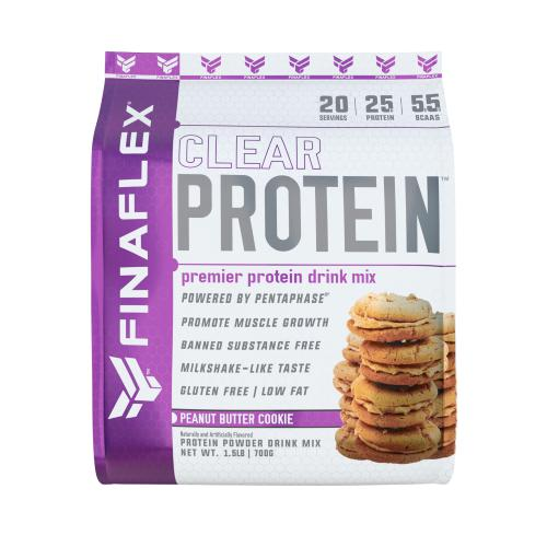 FinaFlex Clear Protein 1.5lb Peanut Butter Cookie