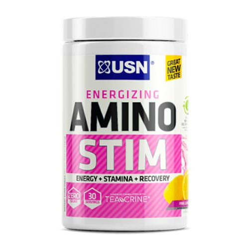 USN Amino Stim 30 Servings Pink Lemonade