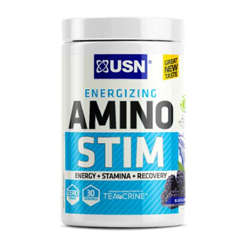 USN Amino Stim 30 Servings Blue Raspberry