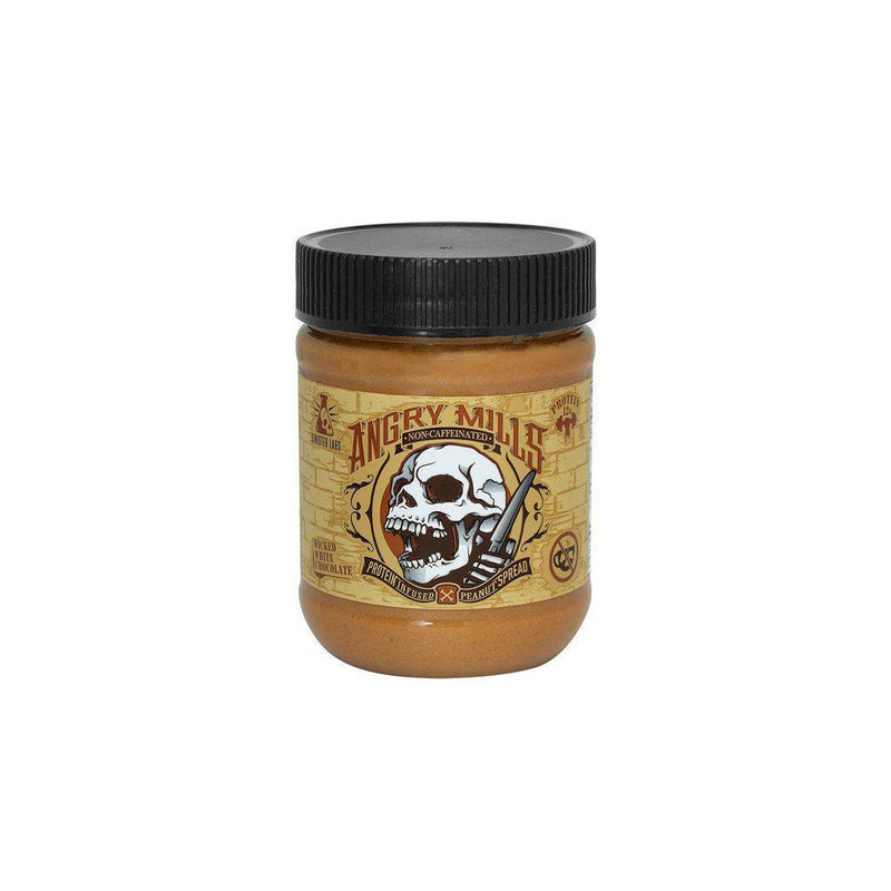 Sinister Labs Angry Mills Protein Spread Non Caffeinated Wicked White Chocolate