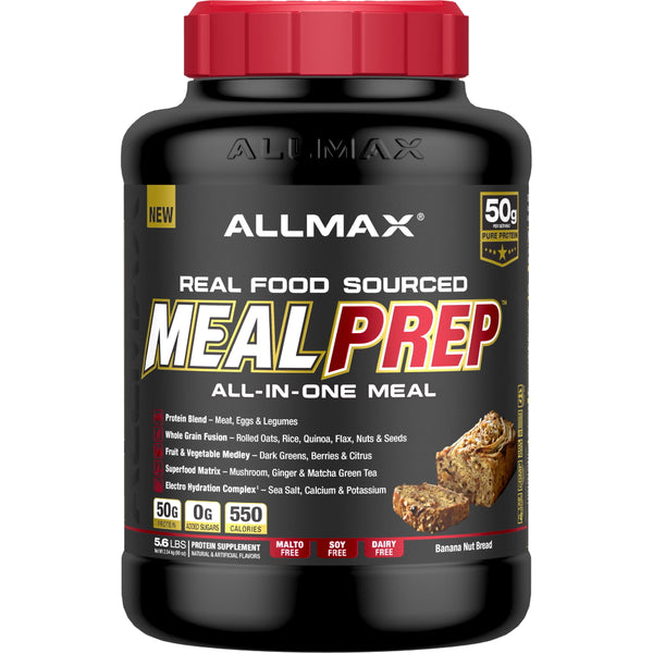 Allmax Nutrition Meal Prep 5.6lbs Banana Nut Bread