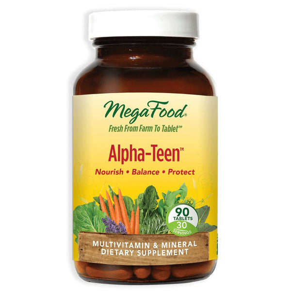 MegaFood Alpha Teen 90 Tablets