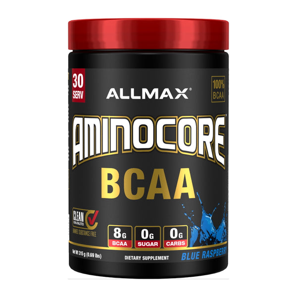 Allmax Nutrition Aminocore 30 Servings Blue Raspberry