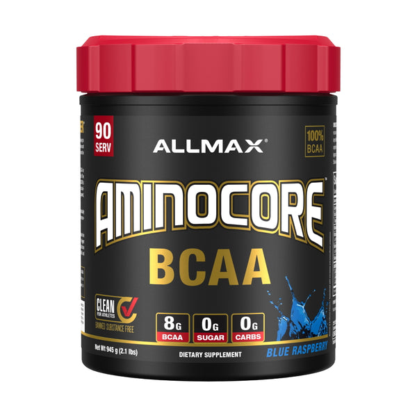 Allmax Nutrition Aminocore 90 Servings Blue Raspberry