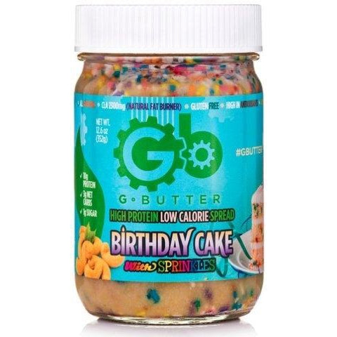 G Butter 12.6oz Birthday Cake