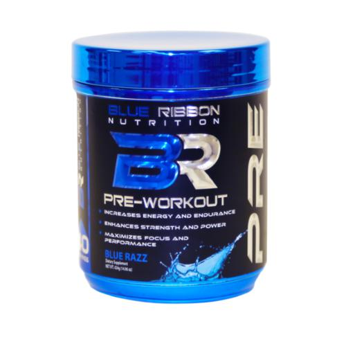 Blue Ribbon Nutrition Pre Blue Razz