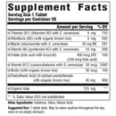 MegaFood Balanced B Complex Supplement Facts