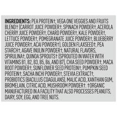 Vega One Shake Small Berry Ingredients
