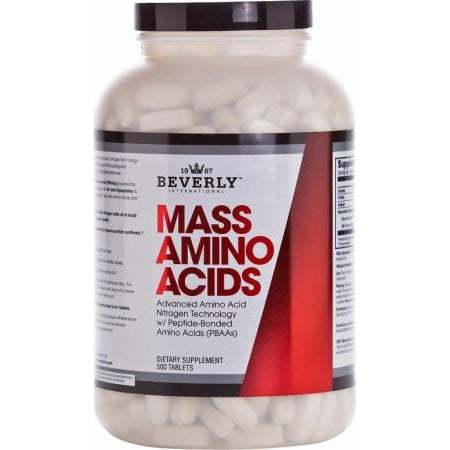 Beverly International Mass Amino Acids 500 Tablets