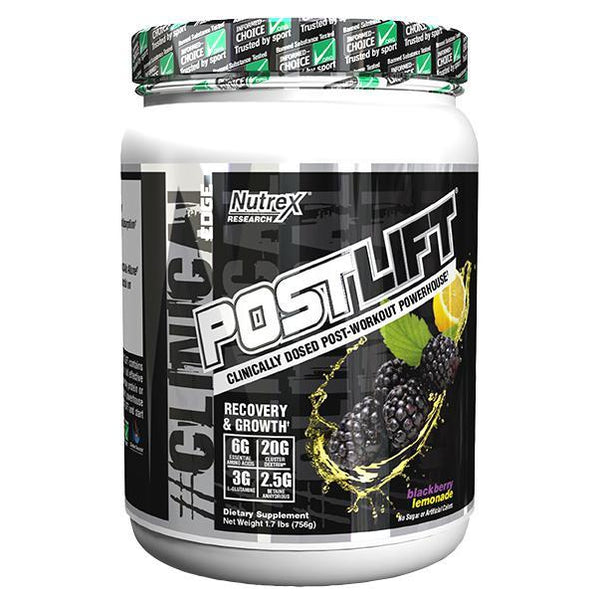 Nutrex Post Lift 20 Servings Blackberry Lemonade