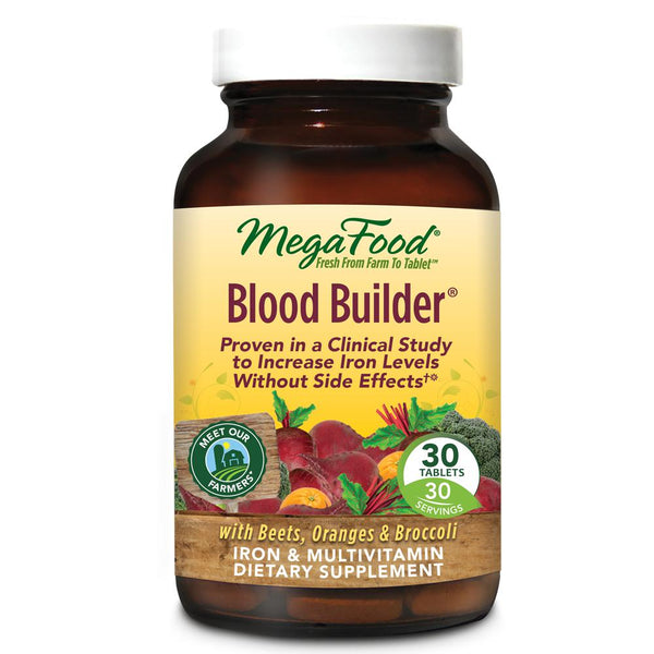 MegaFood Blood Builder 30 Tablets