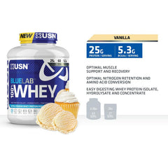 USN Blue Lab Whey 5lb