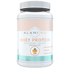 Alani Nutrition Whey Protein 30 Servings Blueberry Muffin