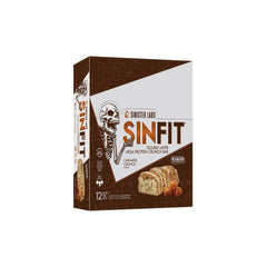 Sinister Labs SinFit Protein Bars Box of 12 Caramel Crunch
